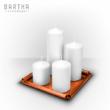 gyertyatartó-gyertyatálca-szett-kollekció-összeállítás-fém-réz-vörösréz-modern-design-dizájn-lakberendezés-kézzel-készített-handmade-barthahandmade
