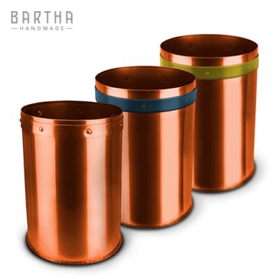32liter-szelektív-hulladékgyűjtő-szeméttároló-szemetes-kuka-szett-kollekció-összeállítás-fém-réz-vörösréz-modern-design-dizájn-lakberendezés-papír-kék-műanyag-sárga-kézzel-készített-handmade-barthahandmade