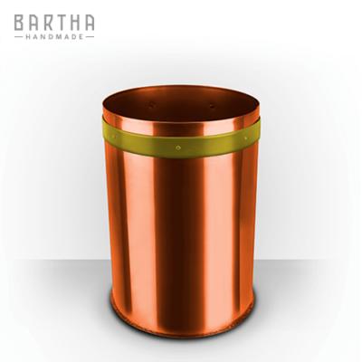 10liter-szelektív-hulladékgyűjtő-szeméttároló-szemetes-kuka-fém-réz-vörösréz-modern-design-dizájn-lakberendezés-műanyag-sárga-kézzel-készített-handmade-barthahandmade