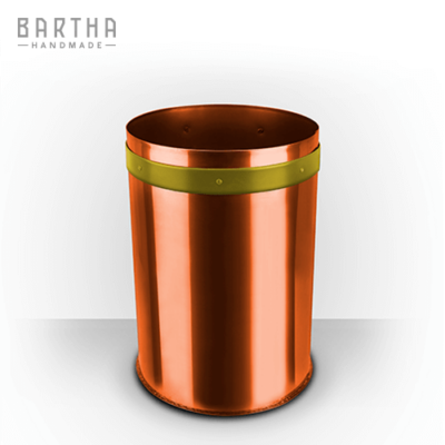 32liter-szelektív-hulladékgyűjtő-szeméttároló-szemetes-kuka-fém-réz-vörösréz-modern-design-dizájn-lakberendezés-műanyag-sárga-kézzel-készített-handmade-barthahandmade
