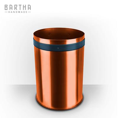 10liter-szelektív-hulladékgyűjtő-szeméttároló-szemetes-kuka-fém-réz-vörösréz-modern-design-dizájn-lakberendezés-papír-kék-kézzel-készített-handmade-barthahandmade